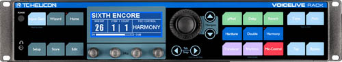 De TC-Helicon VoiceLive Rack vocal harmony processor